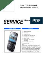 Manual de Servicio Samsung Gt-S3350