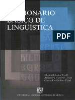 Diccionario de Lingüística