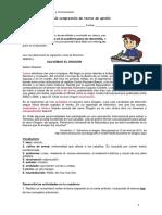 8º BÁSICO-Guía comprensión-textos de opinión
