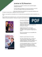 9 Libros Que Aumentan Tu IQ Financiero