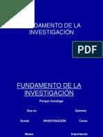 Clase 1ºFundamento de La Investigacion