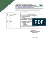 7.5.4.2 Persyaratan Kompetensi Petugas Yang Melakukan Monitoring Rujukan
