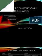 Análisis de Constituciones Chile-Ecuador