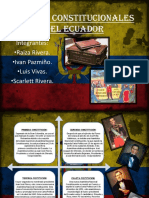 Cartas Constitucionales Del Ecuador