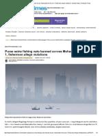 Purse Seine Fishing Nets Banned Across Maharashtra From Jan 1, Fishermen Allege Violations _ Mumbai News _ Hindustan Times