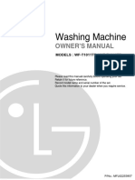 Manual Lg Wf-t1011tp