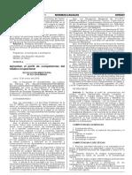 R.M. N° 021-2016-MINSA Aprueban el perfil de competencias del Médico Ocupacional