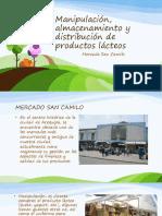 Manipulación Almacenamiento y Distribución de Productos Lácteos