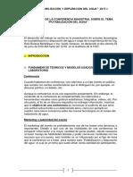 Informe Potabilizacion Del Agua