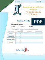 03. Examen Editorial Md 1er. Grado 2016-2017 Bloque 3