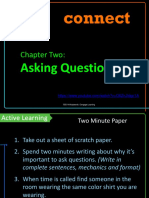 Chapter 2 Asking Questions