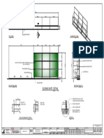 CS-022 Sliding Gate Layout & Detail