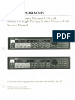 Tmp 20098-Keithley 236 237 Source Measure Unit SMU Service Manual and Schematics1317144693