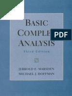 Basic Complex Analysis - Marsden and Hoffman