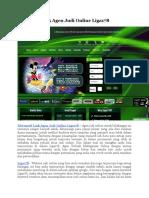 Alternatif Link Agen Judi Online Liga178