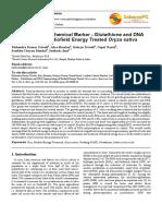 Trivedi Effect - Evaluation of Biochemical Marker – Glutathione and DNA Fingerprinting of Biofield Energy Treated Oryza sativa