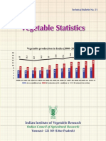 Vegetable Statistics by IIVR Varanasi