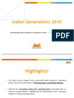 Juxt Indian Generations Segmentation Study 2010