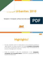 Juxt Indian Urbanites Study 2010