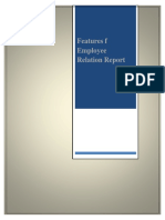 Employee Relation Report