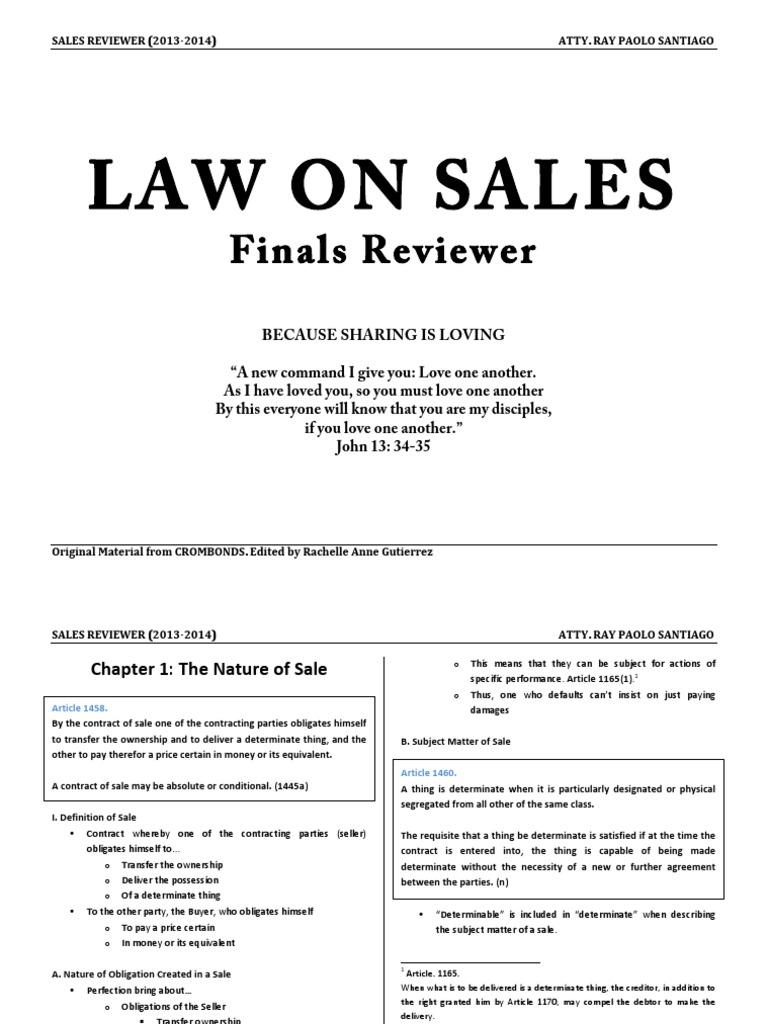 e485ae43c3f Sales (Villanueva Notes).pdf