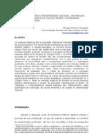 Filosofia da História e Modernidade Nacional. os manuais didático de filosofia do Colégio Pedro II na Primeira República (1889-1930) [PROJETO]