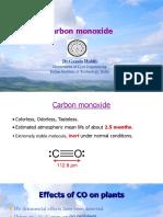 Carbon Mono Oxide