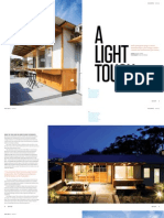 Sanctuary magazine issue 12 - A Light Touch - Wamberal, NSW green home profile