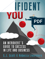 Confident You an Introvert's Guide to Success in Life and Business