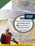 01.- Brochure de Estabilidad de Taludes Con SLIDE y SLOPE