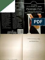 Psicoterapia focal. Terapia breve para psicoanalistas [M. Balint, P.H. Ornstein & E. Balint].pdf
