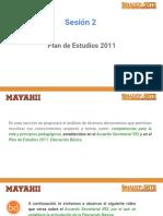 M1. Sesión 2 Plan de Estudios 2011
