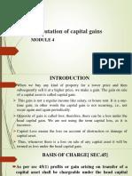 Computation of Capital Gains