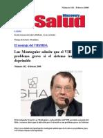 Antonio F Muro (DiscoveryDSalud) - El Montaje Del VIH-SIDA 'Luc Montagnier Admite Que El VIH Sólo Es Un Problema Grave Si El Sistema Inmune Está Deprimido' (2008)