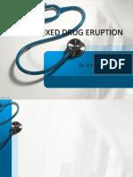 Ppt Fixed Drug Eruption