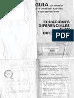 Guia de Estudio de Ecuaciones Diferenciales