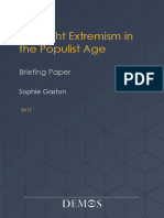 Demos Briefing Paper Far Right Extremism 2017