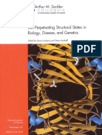 Proceedings of the National Academy of Sciences Sackler NAS Colloquium Self-Perpetuating Structural States in Biology, Disease, And Genet