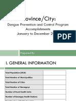 PIR Template 2016 - Dengue