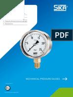 DS Mechanical Pressure Gauges