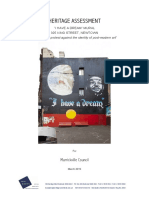 I Have a Dream - Final Heritage Assessment Report March 2015 by Paul Davies Pty Ltd