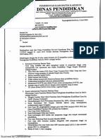 Surat Bantuan Kualifikasi APBD Provinsi 2015