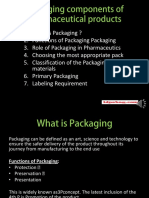 Packaging Components of Pharmaceutical Products.!