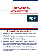 4.Organizational Interventions