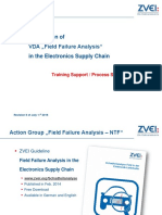 ZVEI Field Failure Analysis Process Steps for Training V6