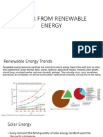 Power From Renewables