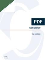 1.1 - Vakkilainen - Green Electricity