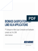 2.2 - Isakkson - Biomass Gasification for Lime Kiln Applications