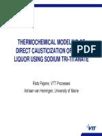 4.1 - Pajarre - Equilibrium Calculations for BLG and Causticization