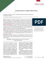 VUR Diagnostics Predictors of Breakthrough 2010